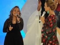 Bruna Karla grava participação no programa da Eliana