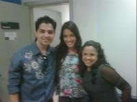 Cassiane e Brenda participam de quadro no programa Raul Gil