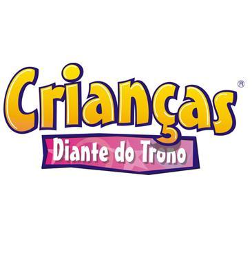 Crian  As Diante Do Trono  Minist  Rio Infantil Lan  Ar   Novo CD E