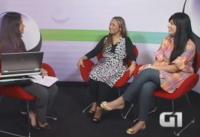 Fernanda Brum e Bruna Karla participam de entrevista interativa ao vivo no site G1 da Globo