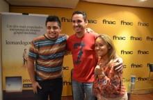 """Leonardo Gonçalves faz pocket show de lançamento do CD """"Princípio e Fim"""", com a presença de Bruna Karla e Nani Azevedo. Veja Fotos"""