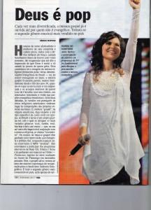 """""""Deus é Pop"""": Matéria da revista Veja destaca a música gospel como esperança para a indústria fonográfica"""