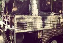 Banda Sanctus Real sobrevive a acidente em ônibus. Veja fotos