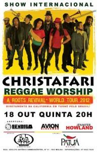 """Christafari desembarca essa semana no Brasil para série de shows da turnê mundial """"A Roots Revival"""""""