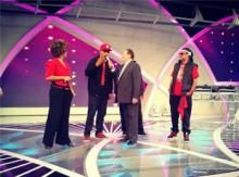 Ao Cubo grava participação no Programa Raul Gil