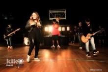 """Perlla grava clipe da música """"A Vitória Já é Minha"""" e é tema de reportagem do TV Fama"""