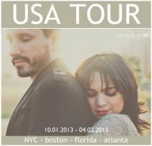 Daniela Araújo e Leonardo Gonçalves iniciam turnê nos Estados Unidos