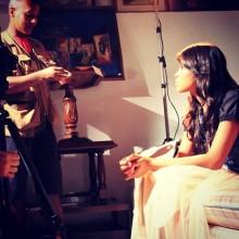 """Brenda grava novo clipe, """"Para Sempre"""", sob direção de Vlad Aguiar"""