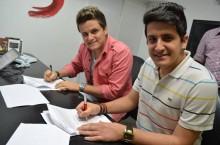 Dupla André e Felipe assina contrato com a gravadora Sony Music