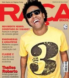 Cantor Thalles Roberto é capa da revista Raça Brasil