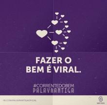 """Palavrantiga apresenta """"Corrente do Bem"""" nas redes sociais como prévia do lançamento do clipe """"Rio Torto"""""""