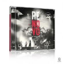 """Diante do Trono apresenta capa do CD """"Renovo"""", comemorativo aos 15 anos do ministério"""