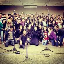 """Cristina Mel iniciou a produção de seu novo CD, que se chamará """"Eu Respiro Adoração"""""""