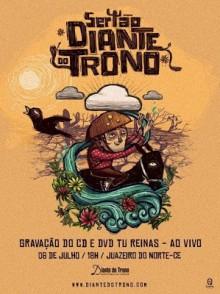 """Diante do Trono anuncia título de seu novo álbum: """"Tu Reinas""""; Gravação será dia 06 de julho, em Juazeiro do Norte"""