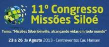 Robinson Monteiro, André e Felipe e Lydia Moisés confirmados no Congresso de Missões da Assembléia de Deus de Joinville
