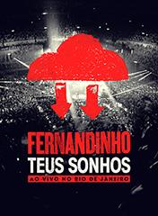 """Fernandinho lança DVD """"Teus Sonhos""""; Assista ao trailer"""