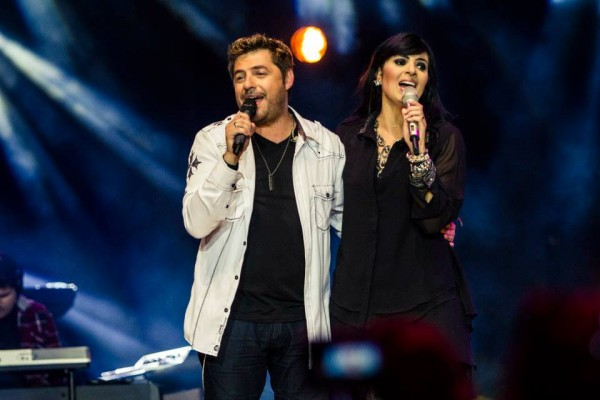 Emerson Pinheiro e Fernanda Brum