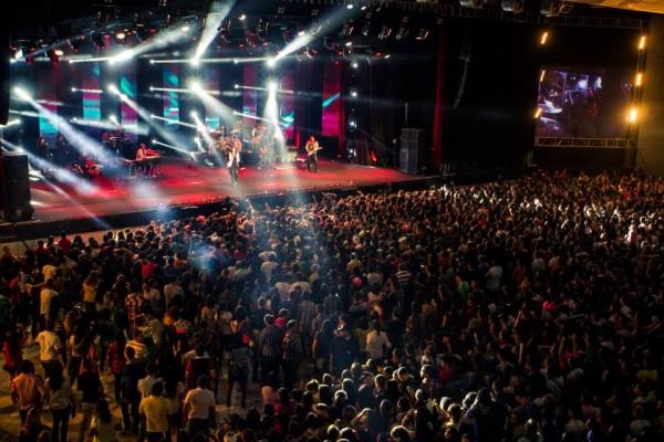 10 mil pessoas acompanharam a gravação