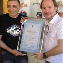 David Quinlan é homenageado com o título de cidadão natalense