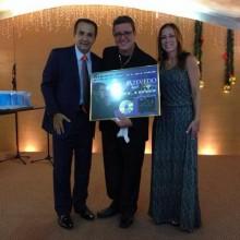 """Nani Azevedo conquista Disco de Platina pelo álbum """"Sou Curado"""""""