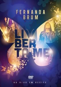 "Fernanda Brum revela capa de seu novo DVD, ""Liberta-me"""