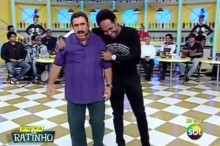 "No Programa do Ratinho, Thalles Roberto revela título de seu novo DVD ao vivo: ""Ide""; Assista"